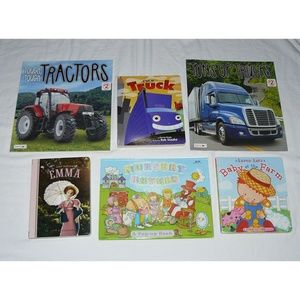 LOT 6 CHILDRENS BOOKS, Board, Pop-up, Touch Feel